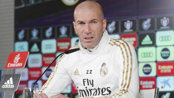"""Zidane: """"Queremos cambiar la historia en la Copa del Rey"""""""
