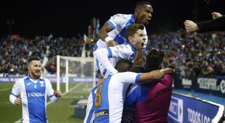 Copa del Rey (semifinales ida)  Resumen y goles del Leganés 1-1 Sevilla 5eac4540019d2
