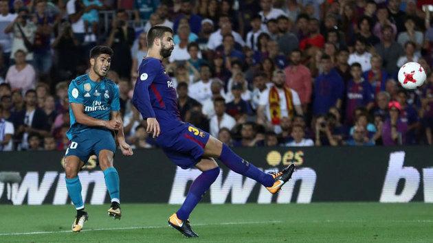 Supercopa: Gol de Asensio (1-3) en el Barcelona 1-3 Real Madrid - MarcaTV
