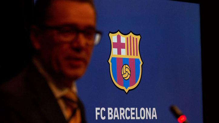 FC Barcelona  Así ha evolucionado el escudo del Barça en sus 119 ... b05ba4d40d4