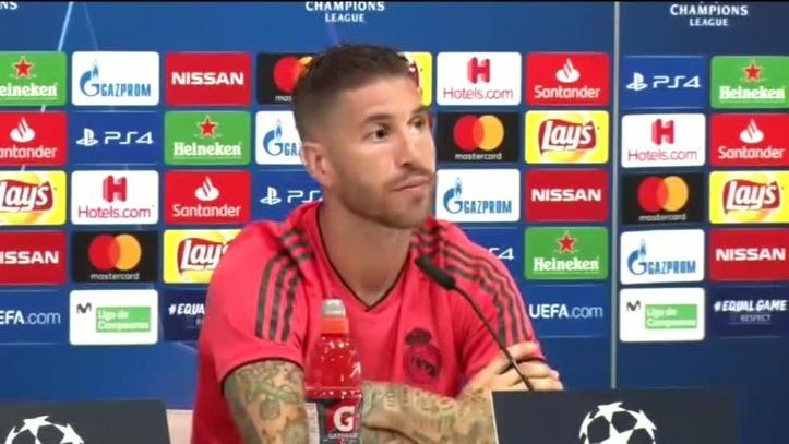 """Ramos, a Griezmann: """"La ignorancia es muy atrevida, cuando escucho hablar a este chaval..."""""""