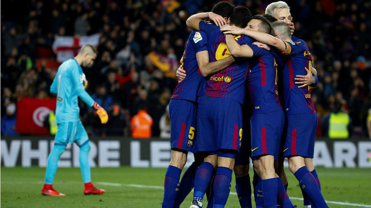 Barcelona vs Valencia  Messi y Suárez dan ventaja al Barça - Copa ... 3a1ff52a85023