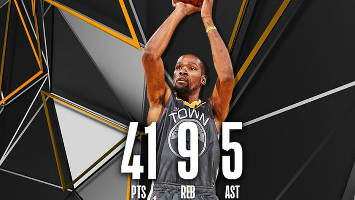 2c1c4409414 Kevin Durant conquista  su  Madison con 41 puntos y... ¡25 en el último  cuarto!