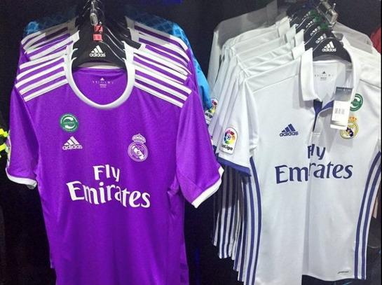 Real Madrid  Ya está a la venta la camiseta del Real Madrid 2016 ... 70deb910de26b