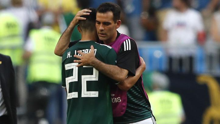 Brasil vs México  Rafael Márquez da6b09abe3d
