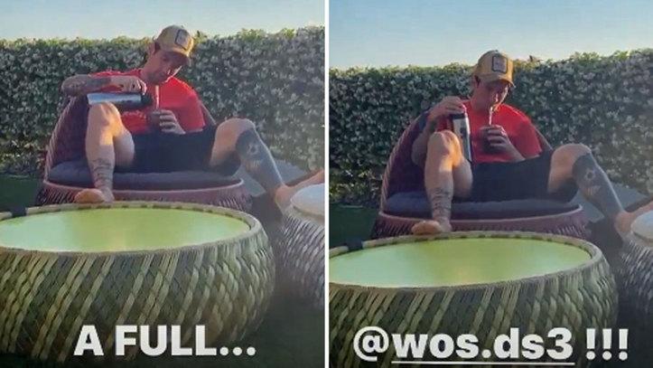 Messi se relaja de 'terraceo' con un mate al ritmo de Wos, el rey ...
