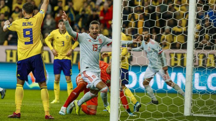 Un gol de Rodrigo en el descuento certifica la clasificación de España