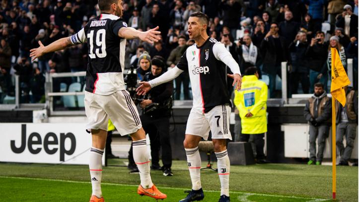 Juventus Vs Cagliari Cristiano Hat trick Takes Juventus Past Cagliari Serie A
