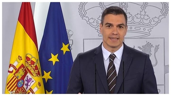 Pedro Sánchez, hoy