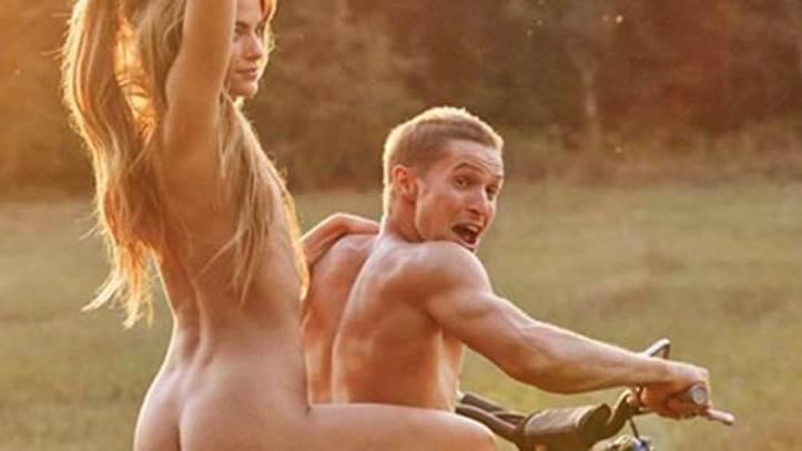 Una Leyenda Del Motocross Se Desnuda Con Una Modelo Y Burla La Dura Censura De Instagram