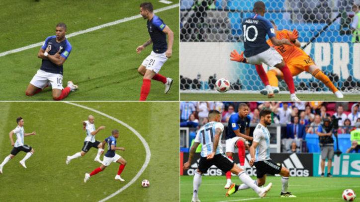 Mundial 2018  Las jugadas de Mbappé que han revolucionado el fútbol ... 8fb0e829e27c7