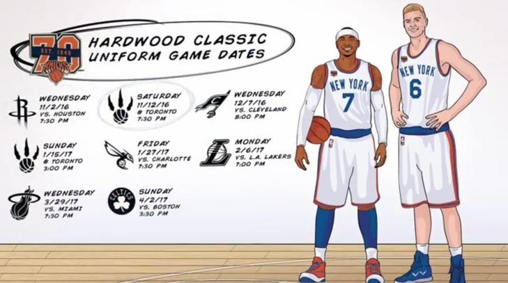 c2e2fc62acf NBA  Todos los secretos del uniforme retro que lucirán los Knicks ...