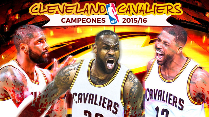 Golden State Warriors 89 93 Cleveland Cavaliers Cleveland Cavaliers. Haz  Click. Video thumbnail. Así fue el séptimo partido que coronó a Lebron 044786b299f