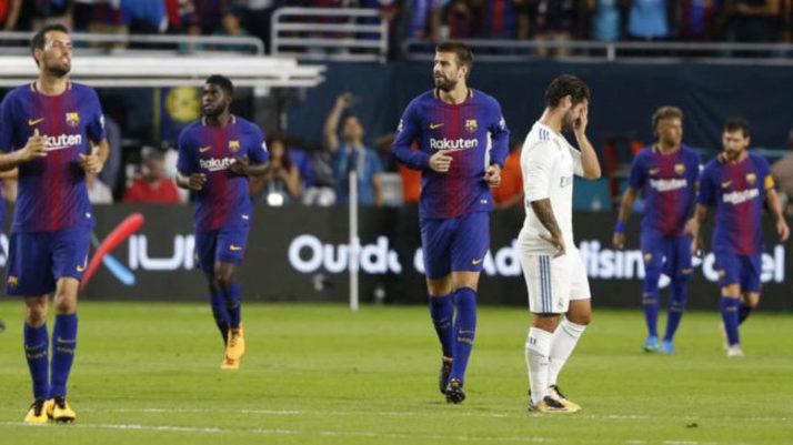 Real Madrid vs Barcelona  Miami lo confirmó  el Madrid está tierno ... c29b312c21d