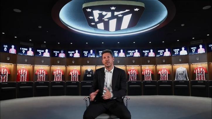Atlético De Madrid El Vídeo Motivacional De Simeone Para