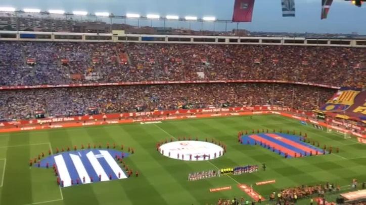 392d85a5e374e Barcelona vs Alavés  Pitos al himno de España en la final de la Copa ...