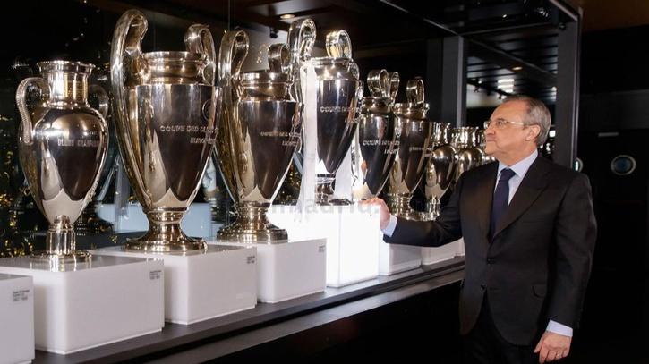Museo Real Madrid.Real Madrid La Undecima Ya Luce En El Museo Del Real Madrid Marca Com