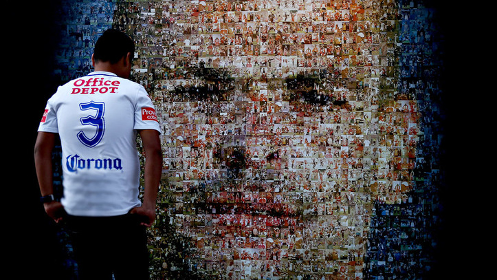 72ede1d77fd06 Liguilla MX Apertura 2018  Pachuca homenajea a Miguel Calero con ...
