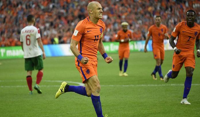 Clasificación Mundial 2018 Robben Hace Historia Y Supera A Cruyff En Goles Con Holanda Marca Com