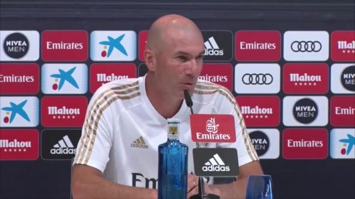 407? Zidane habló sobre James, Vinicius, Hazard, Bale y el sistema - Comunio-Biwenger