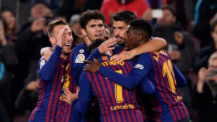7cb98ba99fbdd Barcelona vs Leganés Luis Suárez  plancha  al Leganés - Liga ...