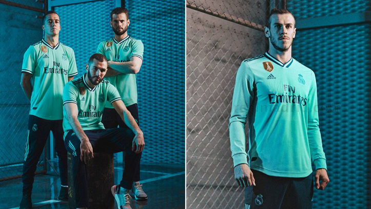 competitive price 0117a 20487 Real Madrid: Real Madrid unveil third kit: You own the ...
