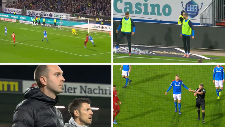Penalty Awarded In Germany As Substitute Touches The Ball Marca In English