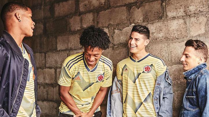 5a93fd555f1 La Selección de Colombia presenta la nueva camiseta para la Copa América