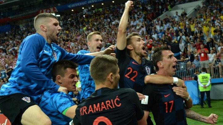 Mundial  Resumen Y Goles Del Croacia   Inglaterra