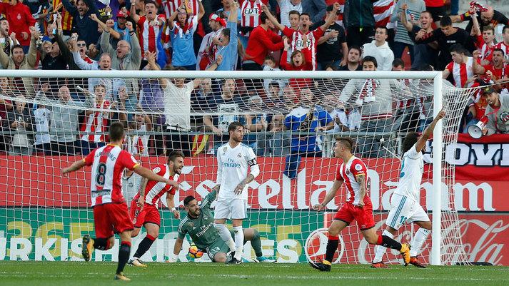 El Madrid votó ayer en Girona. Puso un papelito en la urna y dijo no a la  Liga. En 10 jornadas ddf3a6d7032