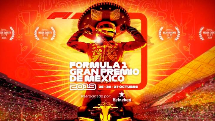Resultado de imagen para cartel fórmula 1 2019