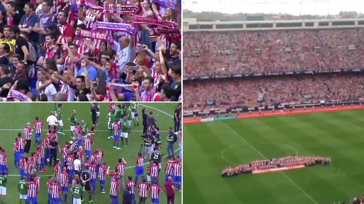 674b53feff875 Atlético de Madrid  El Vicente Calderón entona por última vez el ...