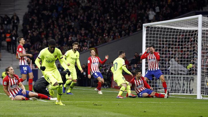 Atlético de Madrid vs Barcelona  Resumen 53b6b06a4aff2