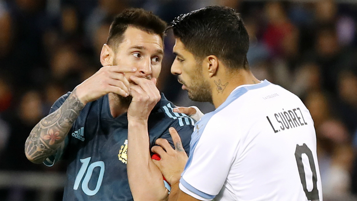 Messi And Suarez On Target As Argentina And Uruguay Draw Marca In English