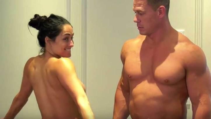 El Desnudo Integral De John Cena Y Nikki Bella Que Revolucionó 2017