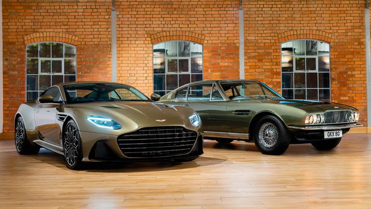 El Aston Martin Db11 Se Pone Al Servicio De Su Majestad Aston Martin