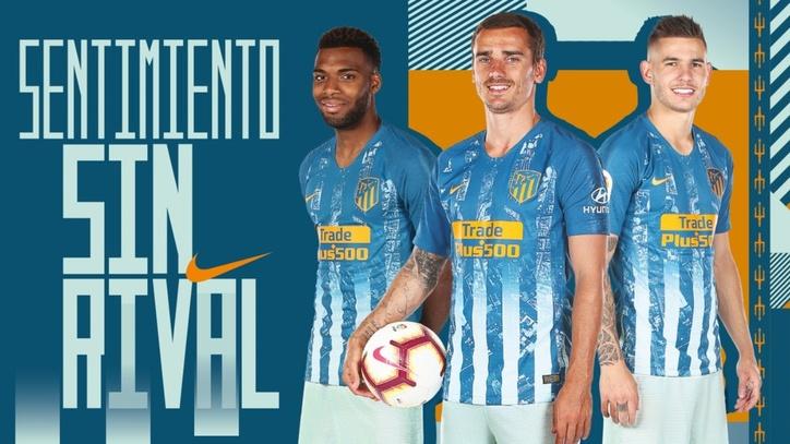 6d51c89b940 LaLiga Santander: Atletico Madrid present a new third kit | MARCA in ...