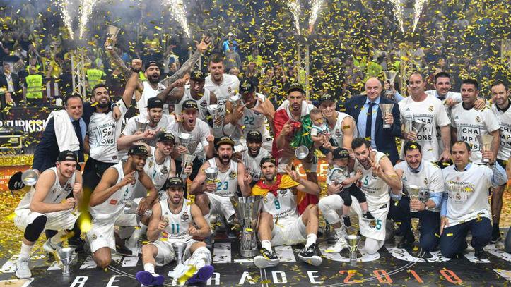 Euroliga 2018  El Real Madrid conquista la  Décima  Euroliga  9e828884eabca