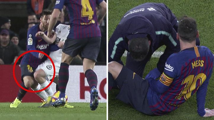 FC Barcelona  Messi y Dembélé  tensa espera a la vista del Clásico ... 55c4bb0895921