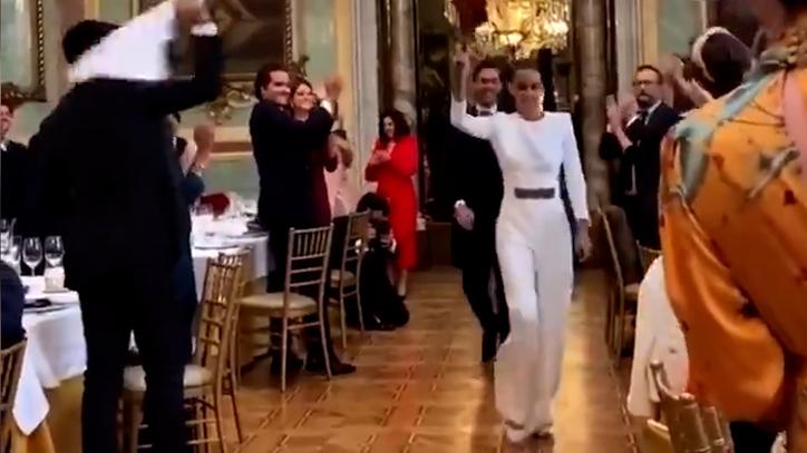 La boda de un canterano del Madrid sin mascarillas en el Casino de Madrid incendia las redes