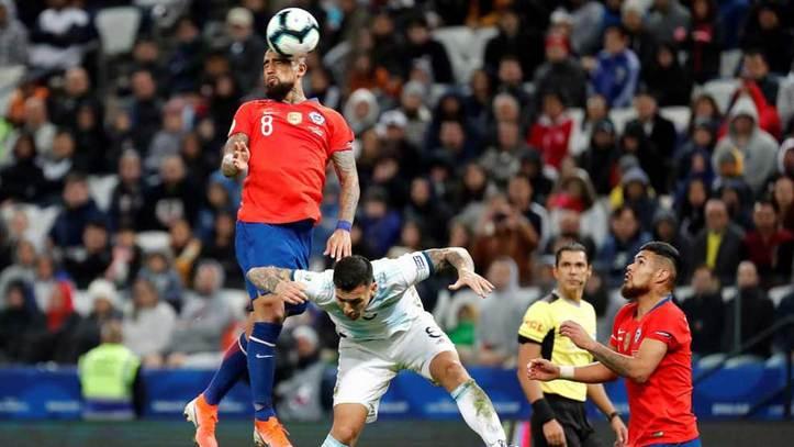 Argentina Vs Chile Resumen Resultado Y Goles Marca Com