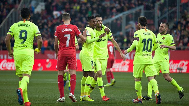 Girona Vs Barcelona Resumen Resultado Y Goles Liga Santander 2018 19 Marca Com