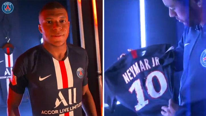 ffa73f2564a0 El PSG presenta su nueva camiseta con Mabppé y Neymar al frente: ¿fin a los  rumores?
