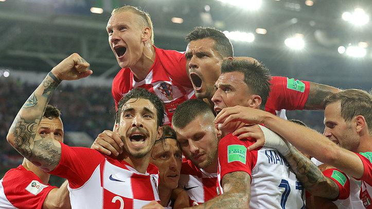 Mundial  Grupo D Los Goles Del Croacia   Nigeria