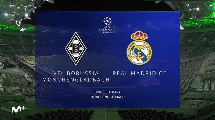 Borussia Monchengladbach Real Madrid Resumen Resultado Y Goles Champions League