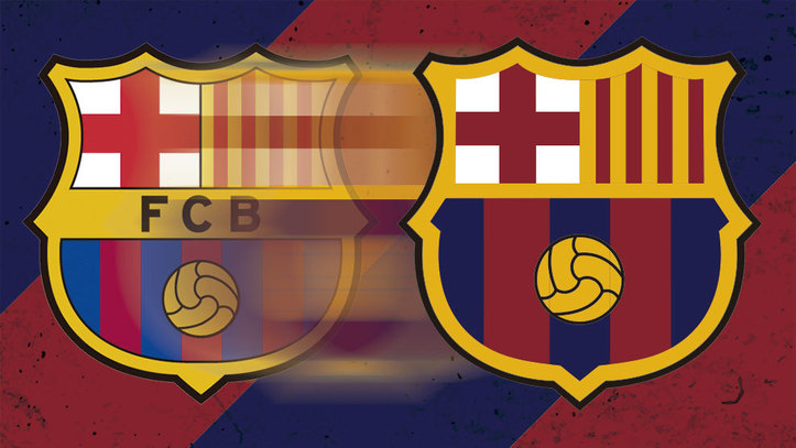 Así ha evolucionado el escudo del Barça en sus 119 años FC Barcelona ... ab795257123