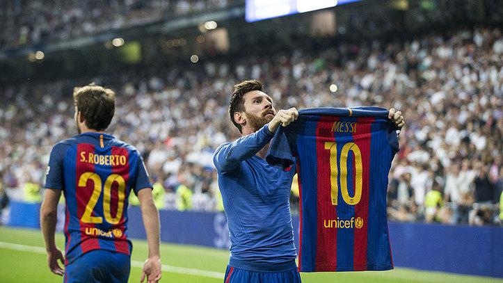 J33  Gol de Messi (2-3) en el Real Madrid 2-3 Barcelona 4fb6c480feadc