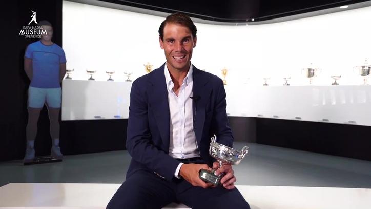 Calendario Roland Garros 2020.Nadal Pone En Su Sala De Trofeos La Ultima Copa De Los Mosqueteros Lograda En Roland Garros