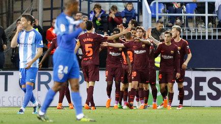 Málaga vs Barcelona  Un paseo sin Messi - LaLiga Santander cef94f990241d