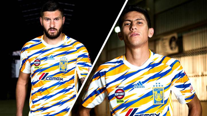 Liga MX  Tigres presenta jersey inspirado en un modelo retro de los ... e43d217213ce8